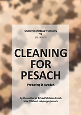Cleaning for Pesach
