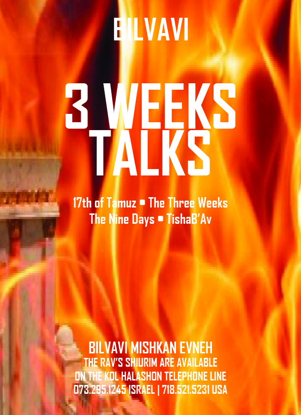 Three Weeks Talks